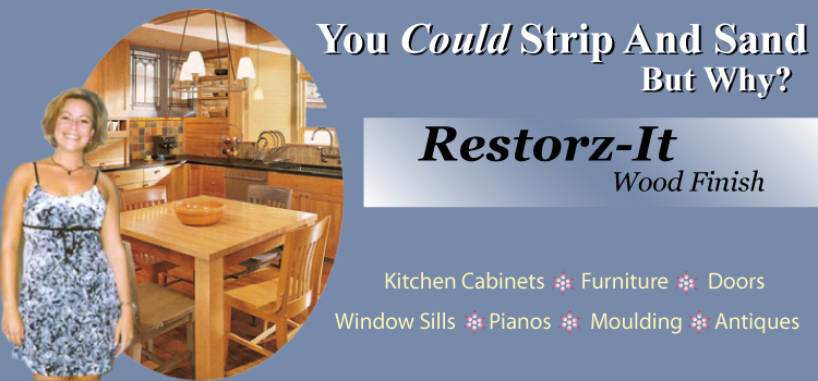 Refinish Your Kitchen Cabinets And Furniture With Restorz It